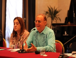 RENZO ARBORE e la musica latina a Umbria Jazz (video-intervista)