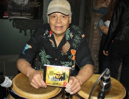 RAY MANTILLA, conguero morbido del jazz